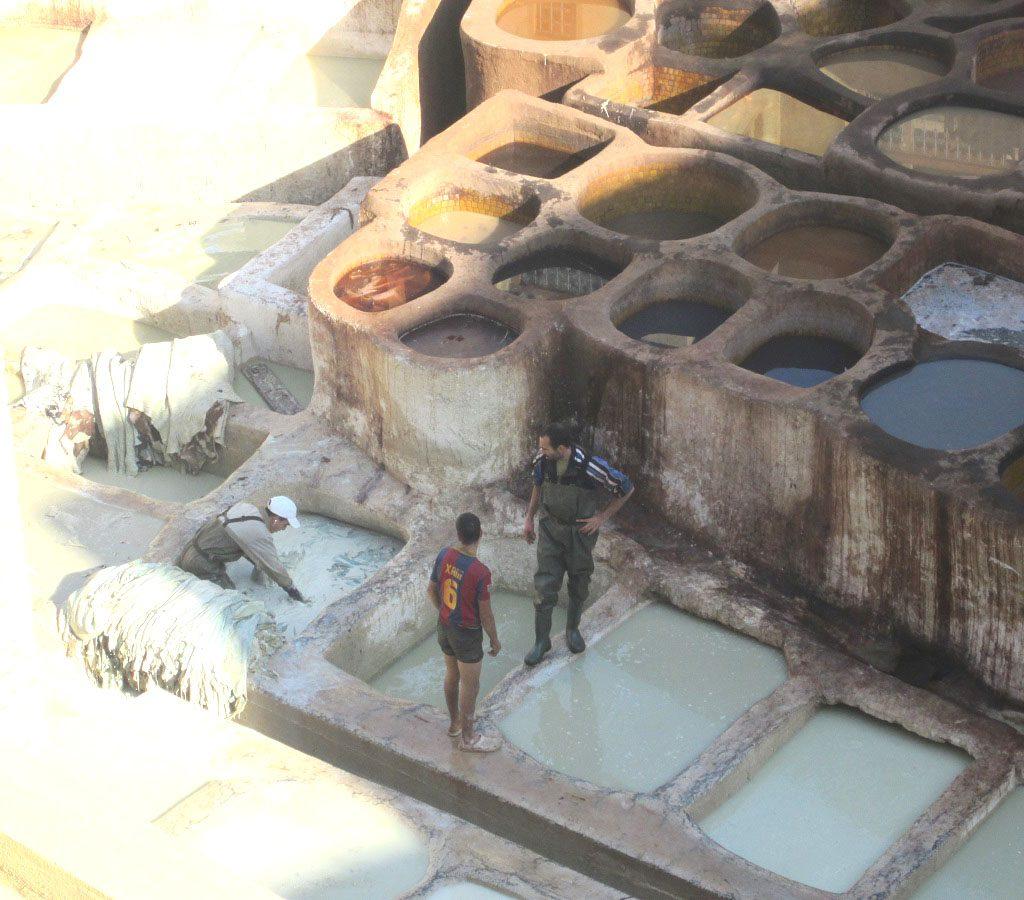 Trabajadores Curtidería De Fez