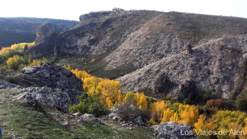 Hoz del río Dulce en otoño