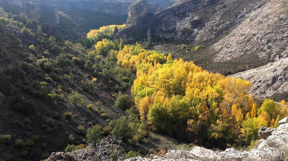 Vsta del río Dulce en otoño