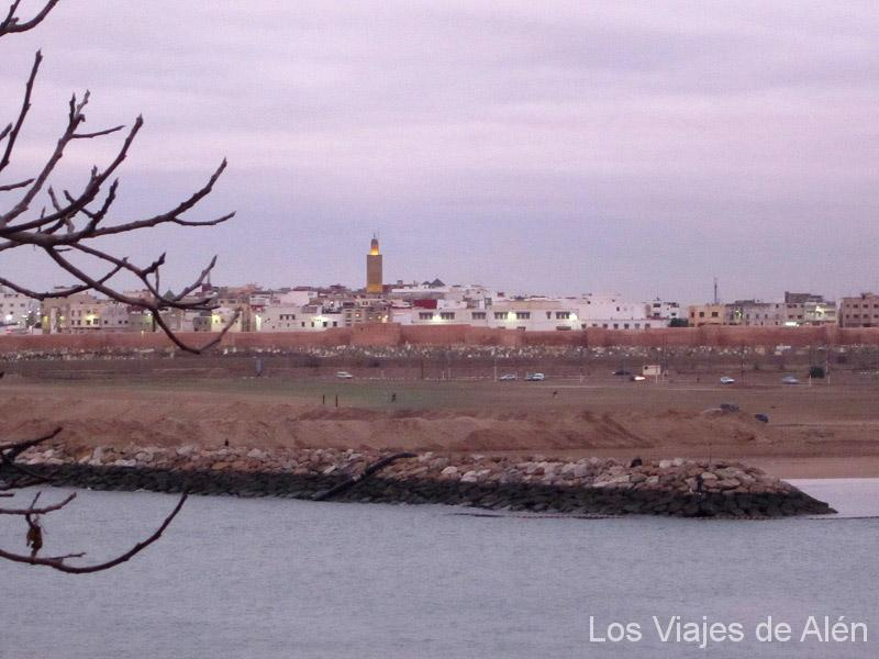 Vistas De La Medina De Salé.