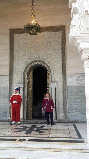 Entrada Al Mausoleo De Mohamed V