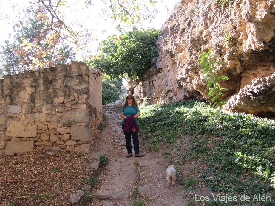 Sendero De Subida, Que Empieza Frente A La Puerta Del Monasterio