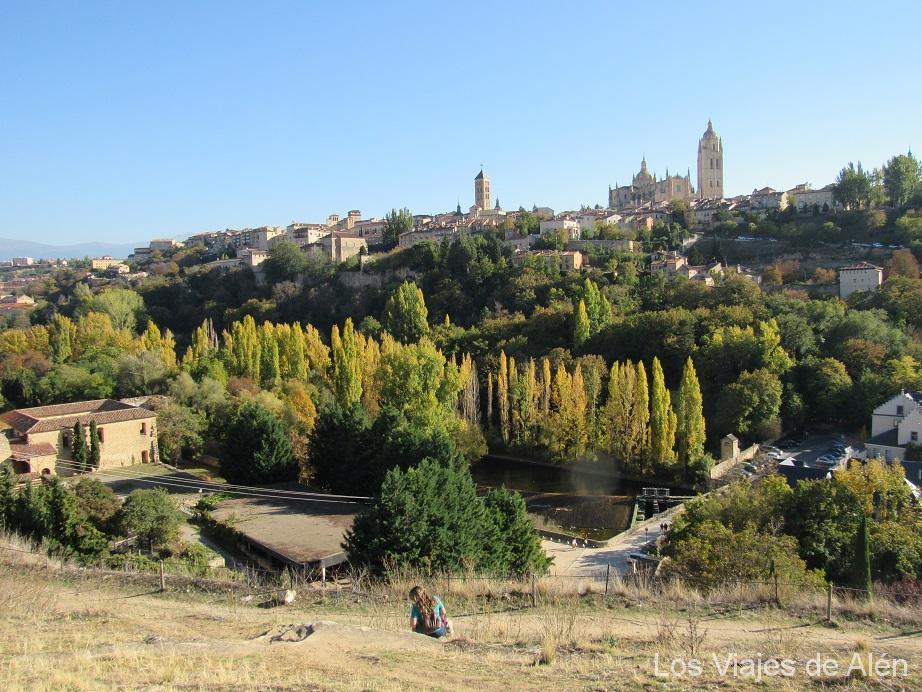 Vista De Segovia Desde El Mirador
