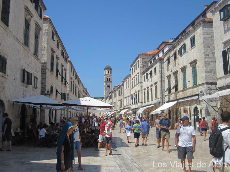 Dubrovnik calle principal