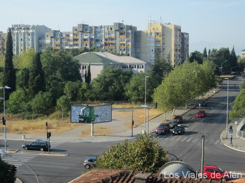 calles de Podgorica
