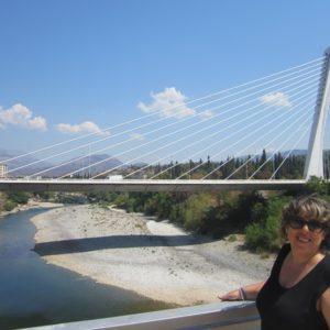 Puente Del Milenio De Podgorica
