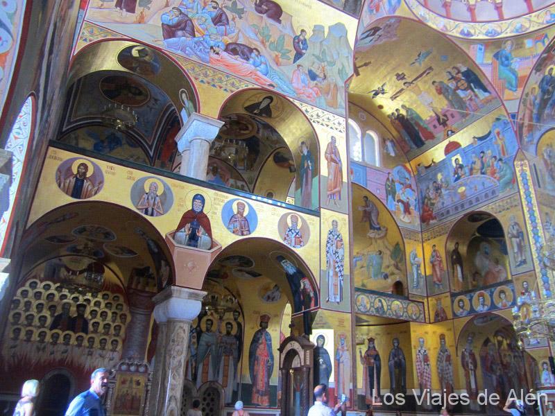 Interior De La Catedral De Podgorica