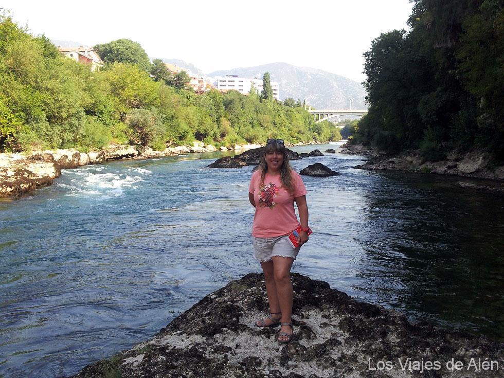 Qué ver en Mostar: río Neretva