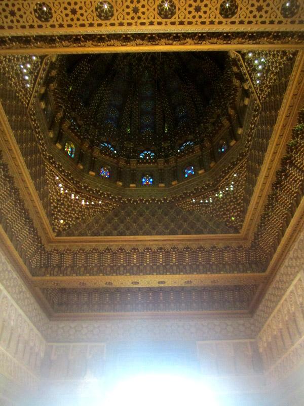 Bóveda Mausoleo Mohamed V