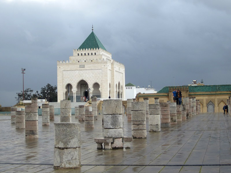 Mausoleo De Mohamed V Rabat