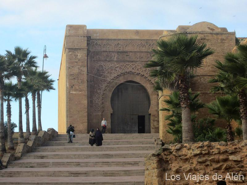 Puerta De Entrada A La Kasbah De Rabat