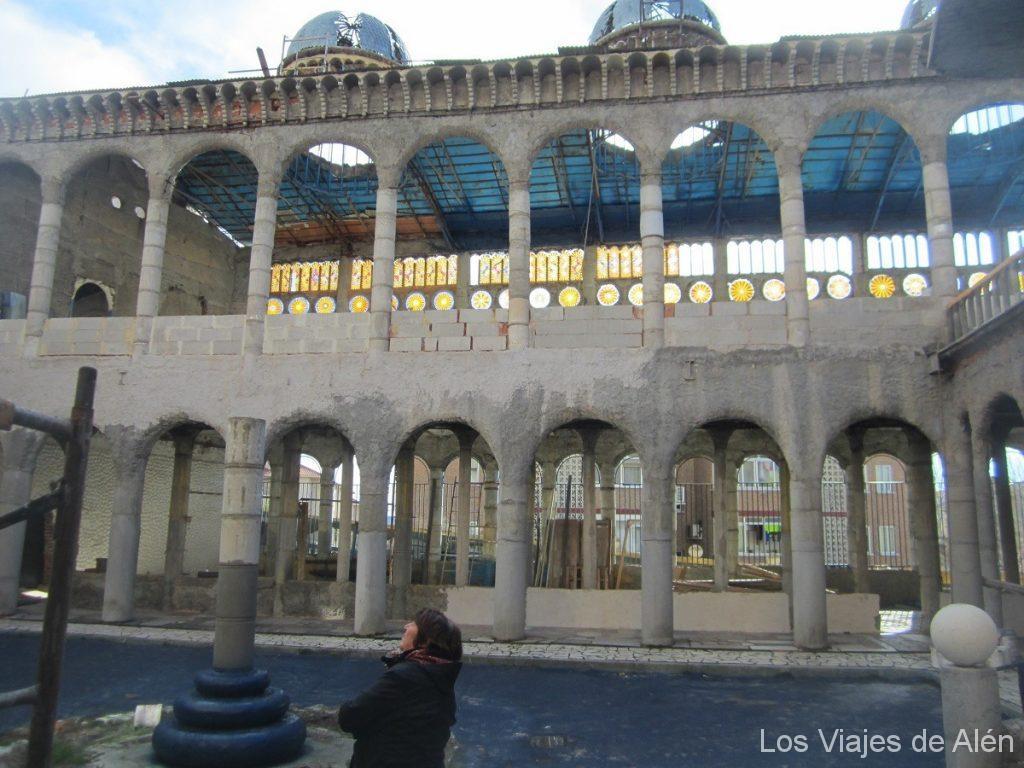 Claustro Catedral de Mejorada del Campo