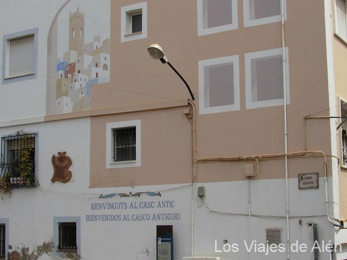 Cartel De Bienvenida Al Casco Antiguo