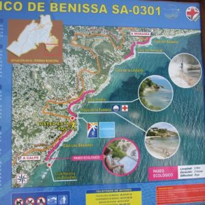 Mapa Que Vimos En Uno De Los Carteles Informativos