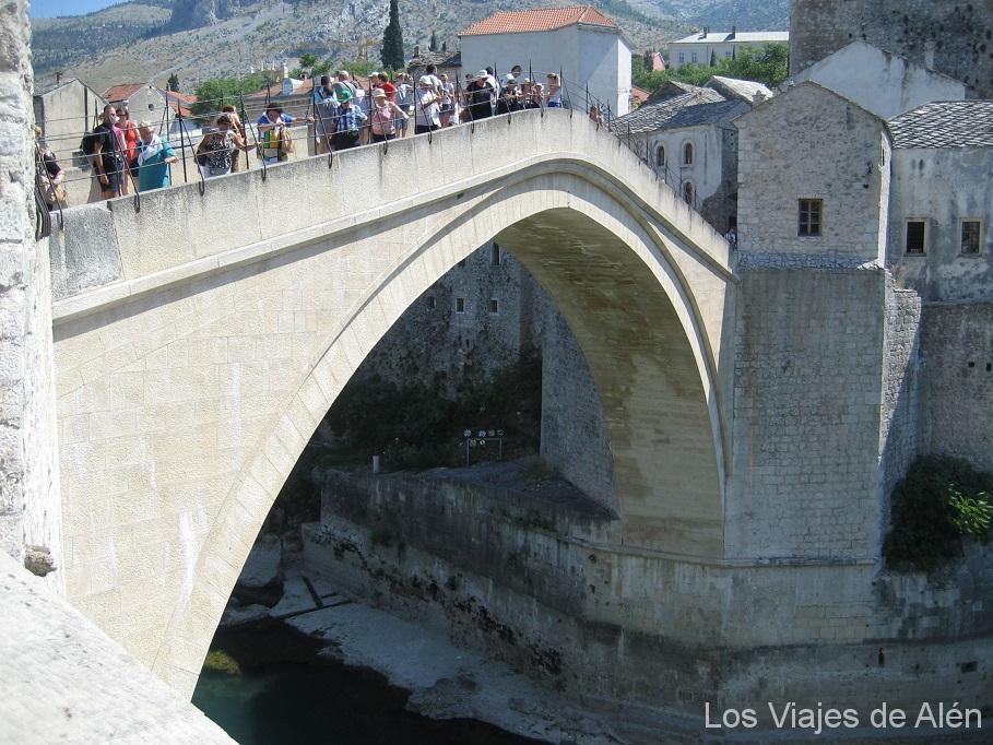 arco del puente de Mostar