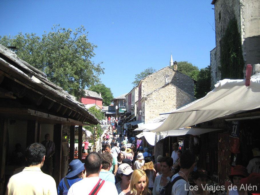 calle comercial Mostar