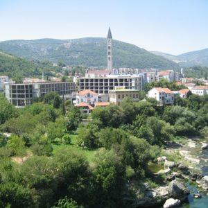 Templo Católico De Mostar