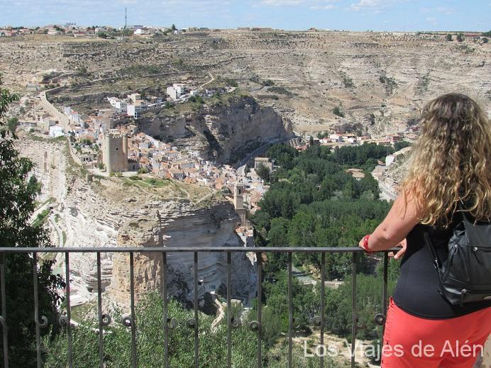 Alcal del j car albacete pura postal entre madrid y valencia - Casas alcala del jucar ...