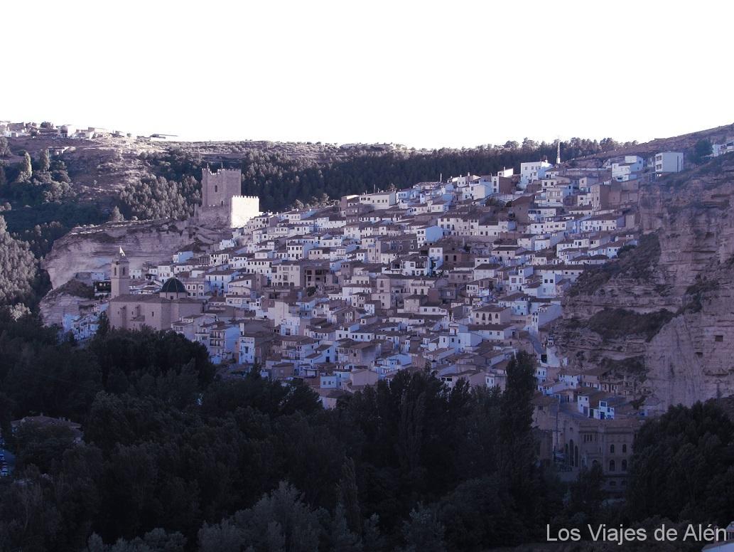 Vista de Alcalá del Júcar. Es pura postal