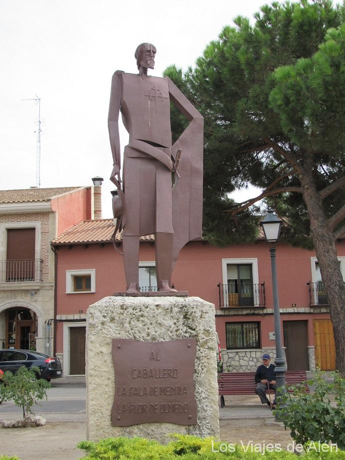Estatua Caballero de Olmedo