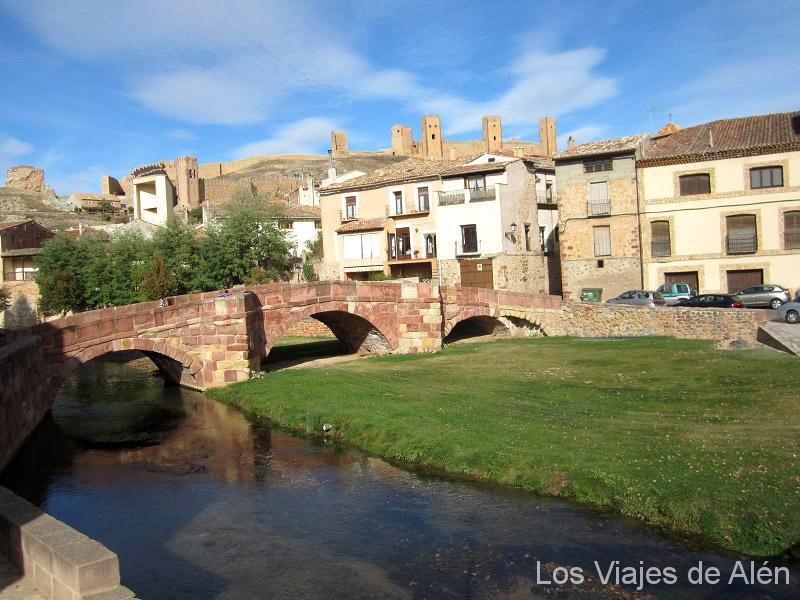 Molina De Aragón.. Puente Medieval Sobre El Río Gallo