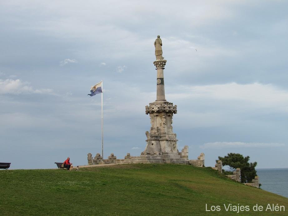 Monumento al marqués de Comillas