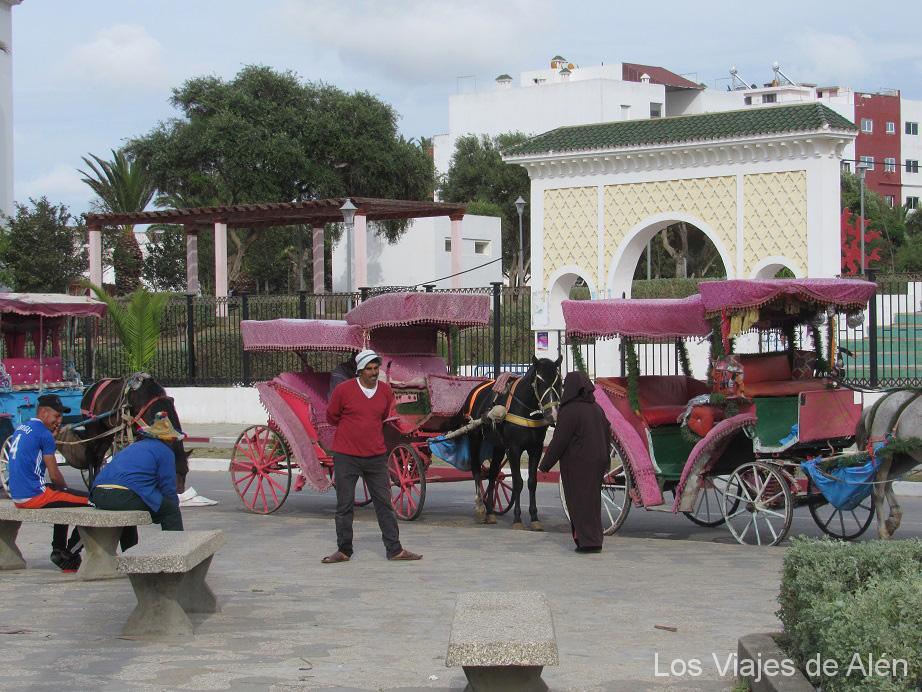 carroza de caballos en Asilah