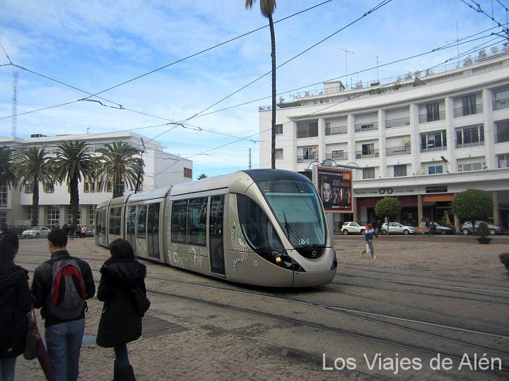 Moderno Tranvía De Rabat