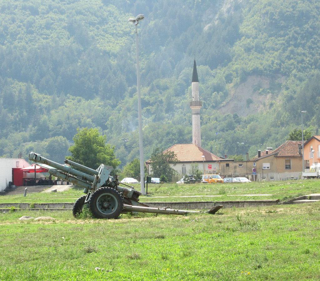 Cañón En Jablanica Bosnia