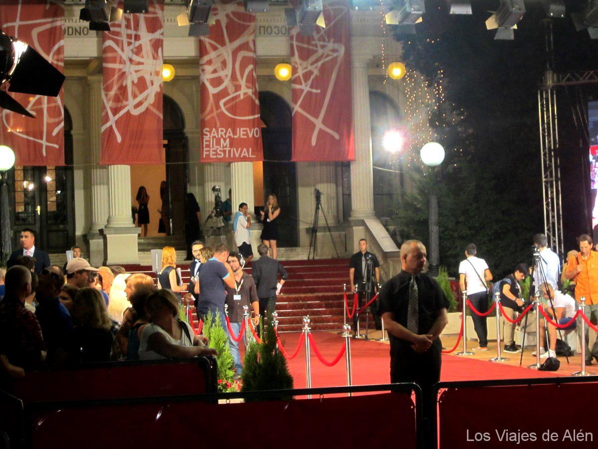 festival de cine en la ciudad de Sarajevo