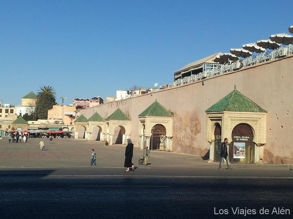 plaza Hedim de Meknes