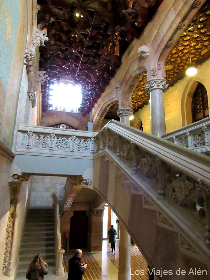 Impresionante Interior De La Universidad De Comillas
