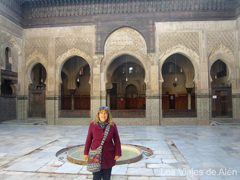 En El Patio De La Madrasa