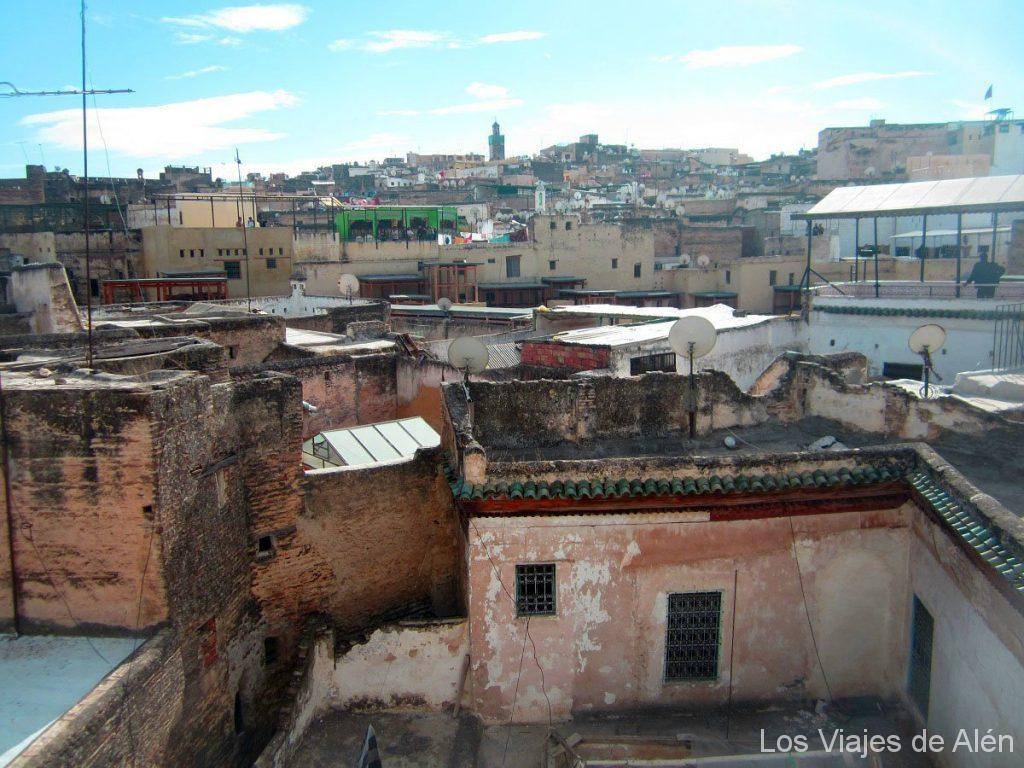tejados de Fez
