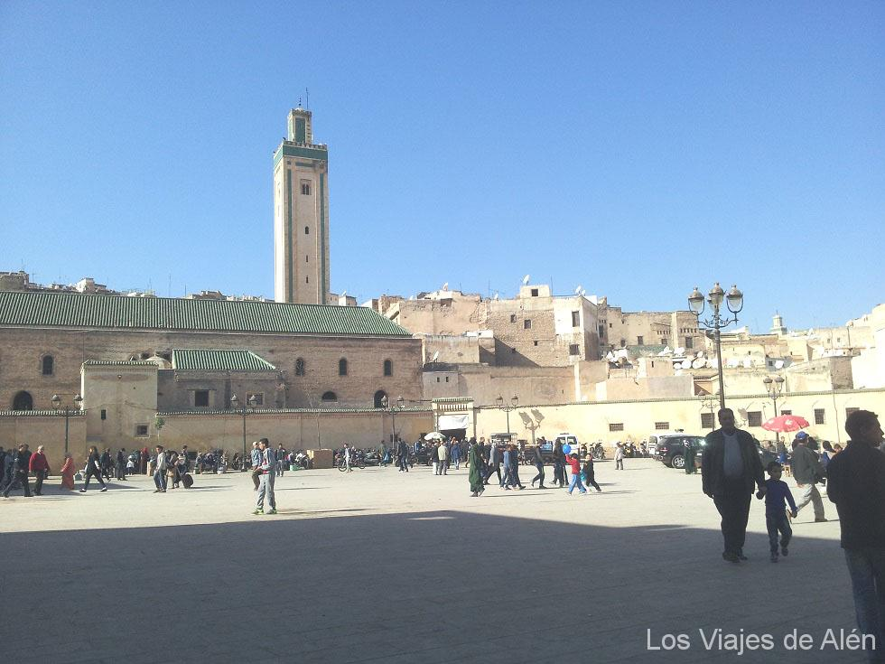 plaza Bab Rcif en la medina de Fez