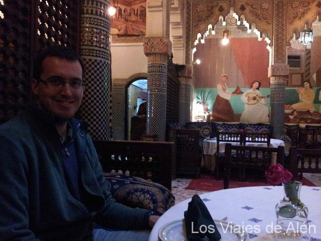 interior restaurante Dar Saada