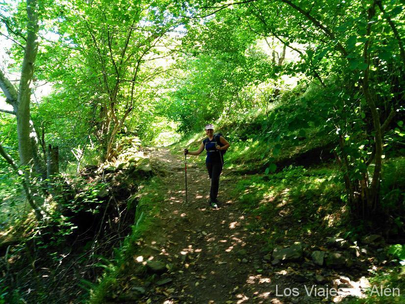 Subida al Collado de Arceón- Camino Lebaniego