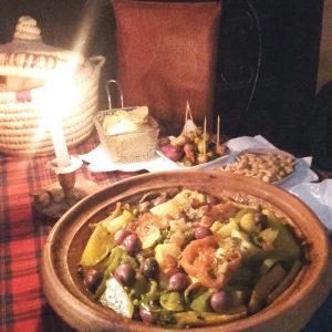 Tajín De Pollo Con Verduras