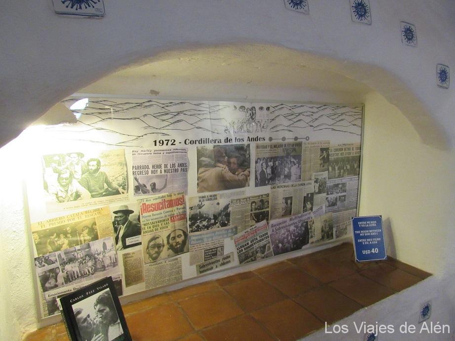 tragedia de los Andes (Casapueblo)