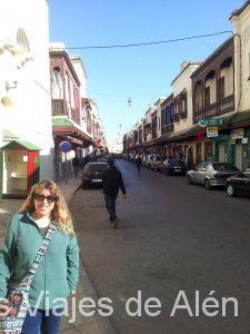Calle del barrio Judío de Fez
