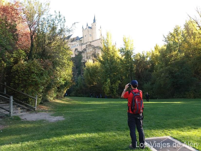 Fotografiando el Alcázar de Segovia