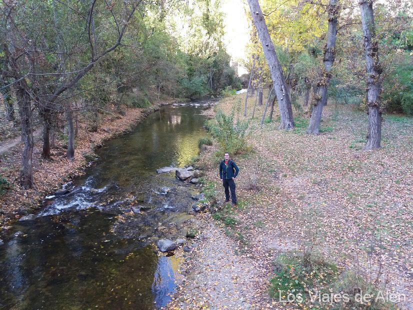 paisaje río Eresma, Segovia