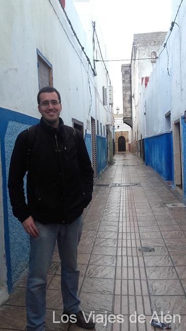 Calle desiertas de la Medina de Rabat