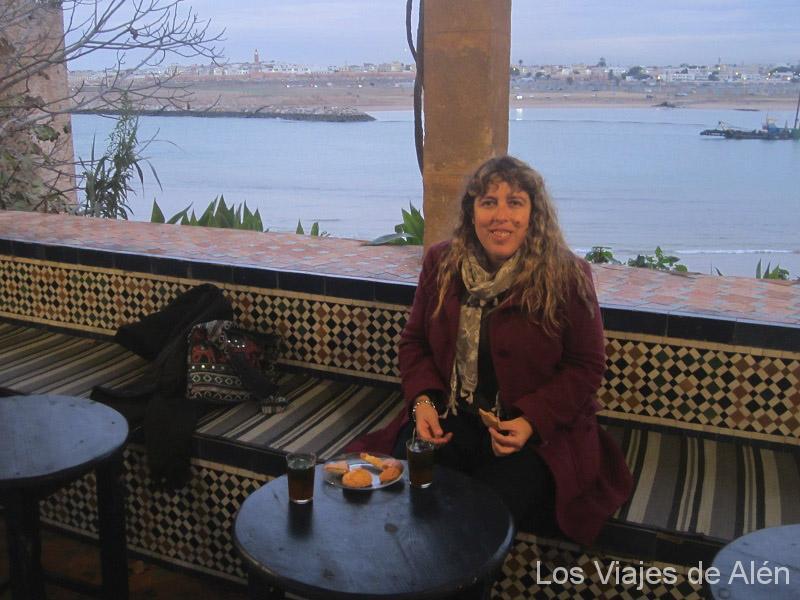 En El Café Del Moure (Rabat)