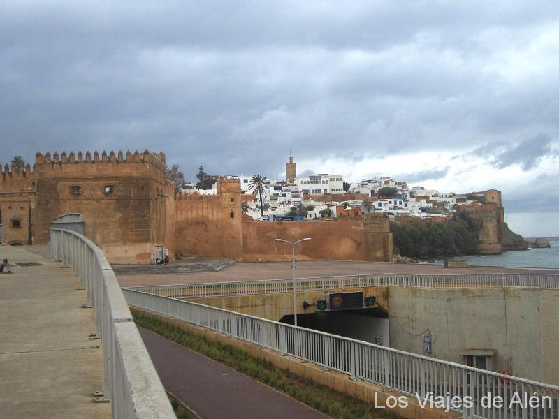 Vista de la Kasbah de Rabat