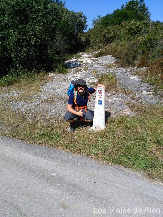señal del Camino Lebaniego