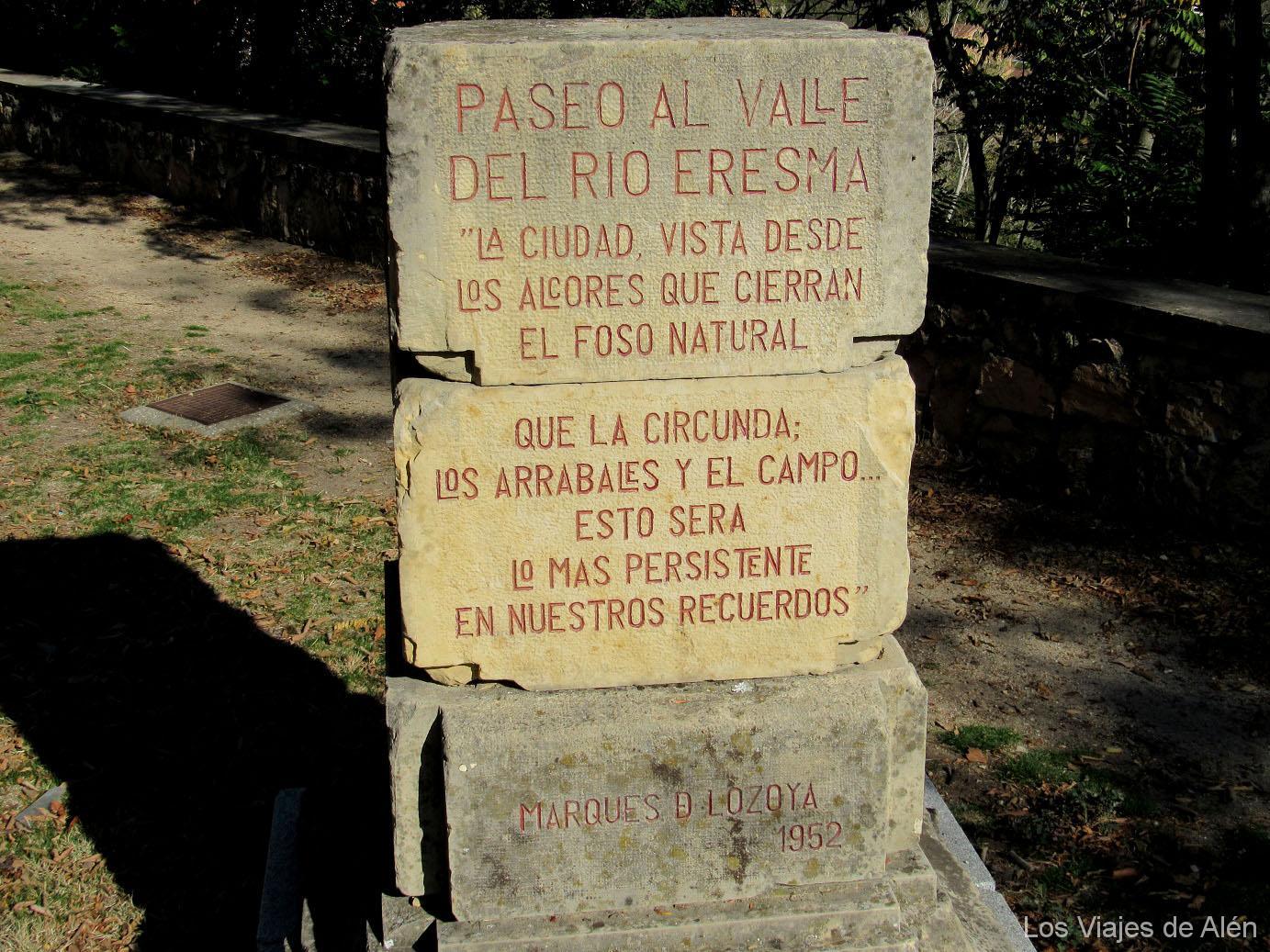 Cartel De Piedra: Marqués De Lozoya