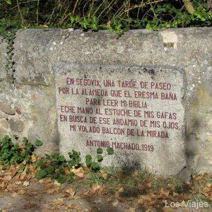 Antonio Machado También Cruzó Este Puente