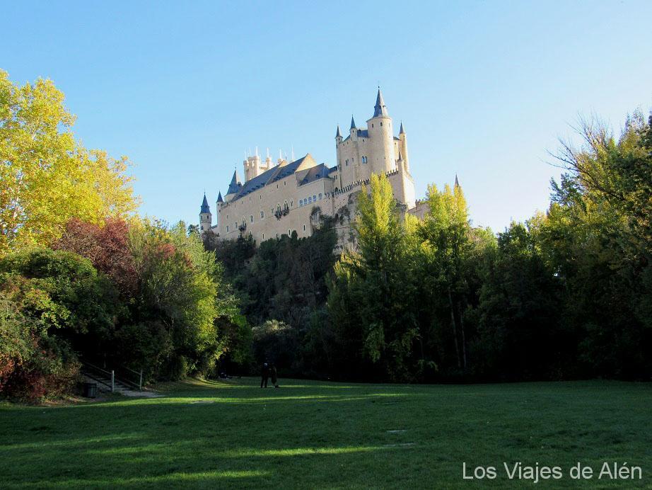 Vista Alcázar de Segovia