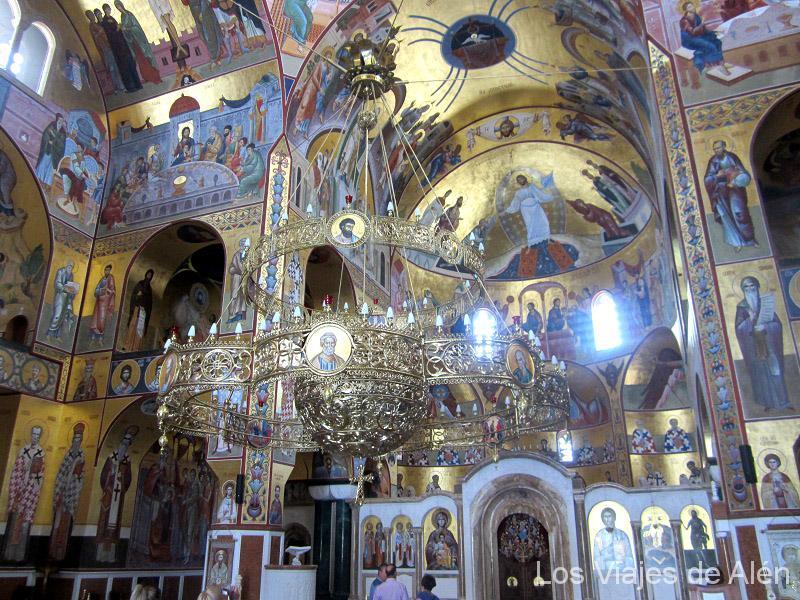 Impresionante Lámpara Que Alumbraba La Catedral